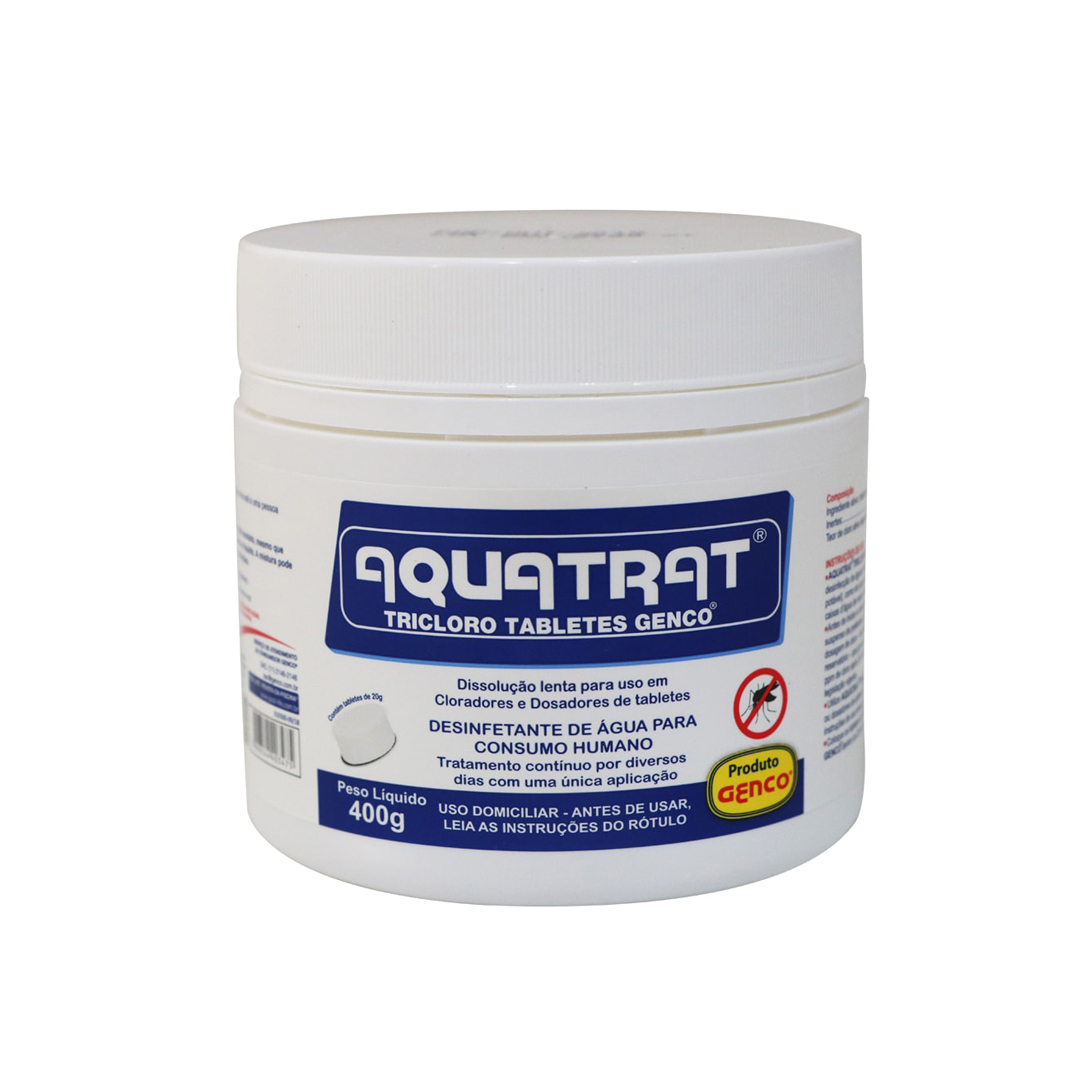 AQUATRAT - TRICLORO TABLETES GENCO